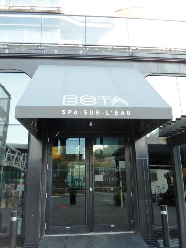entrance, entrée, Bota Bota, Spa, Bota Bota Spa-sur-l'eau, Montreal, Quebec, Canada, wellness, spa travel, travel, photography, TS76