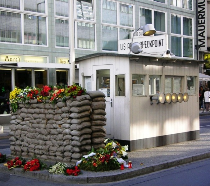 Checkpoint Charlie, Berlin, Germany, travel, photography, history