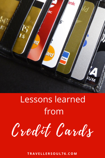Do you remember the first credit card you applied to and received? What have you learned from having and using them? Read about my own experience and what I know thus far! #finances #money #creditcards #lessons #learning #creditcard