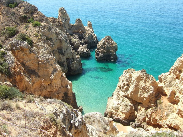 Praia do Rocha, Rock Beach, Algarve, Portugal, travel, photography