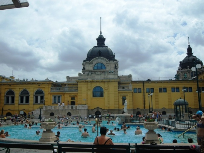 Szechenyi Thermal Baths, Budapest, Hungary, baths, thermal baths, Europe, wellness, health, TS76