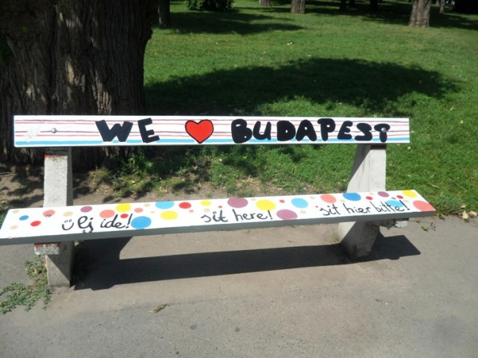 Budapest, Hungary, City Park, Bench, We love Budapest, travel, photography, TS76