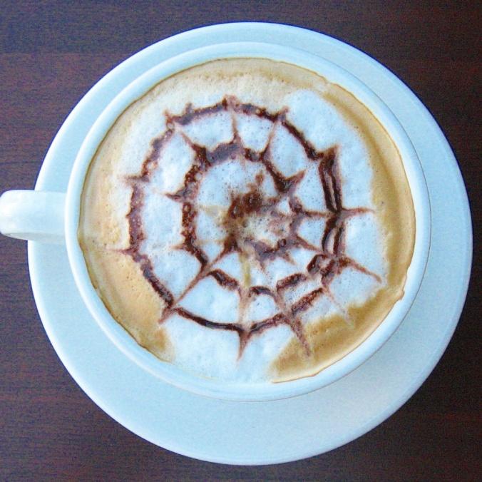 Cappuccino at Café Noir, Montreal, coffee, coffee lover, TS76, photography