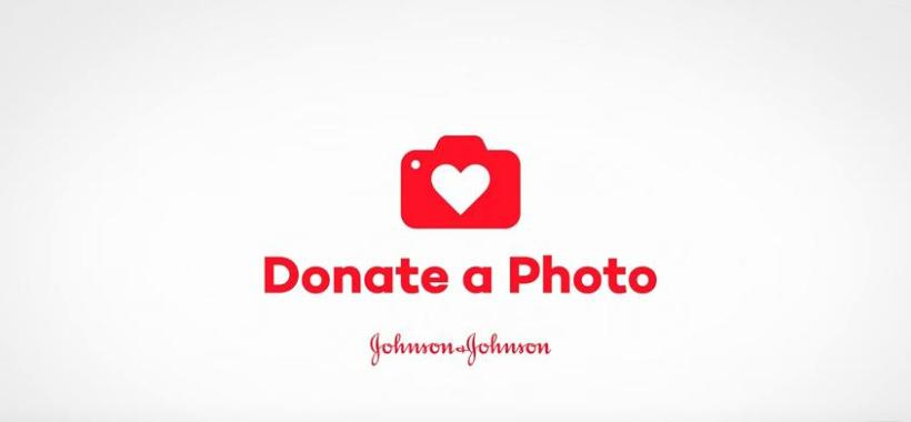 Johnson & Johnson, Donate a Photo, App, Donate a Photo App, social good