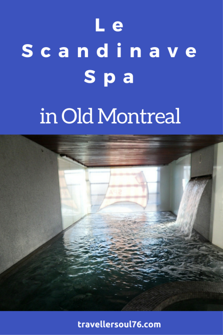 Need to recharge batteries? Head to Le Scandinave Spa in Old Montreal, hydro therapy at its best.