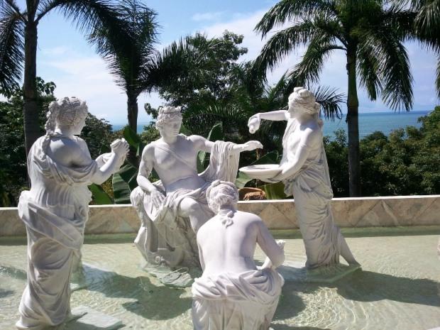 Statues, Parador Resort and Spa, Quepos, Manuel Antonio, Costa Rica, travel, luxury travel, photography, TS76
