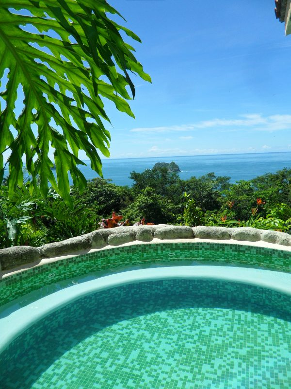 Ocean Vista building, jacuzzi, outdoor jacuzzi, Parador Resort and Spa, Quepos, Costa Rica, Manuel, Antonio, hotel, travel, accommodation, luxury, luxury travel, Central America, Centro America, photography, TS76