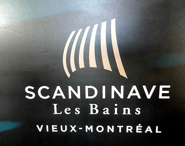 Scandinave Spa, Old Montreal, Logo