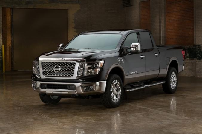 Nissan, 2016 Nissan TITAN XD, Nissan TITAN XD, truck, pickup truck, transportation