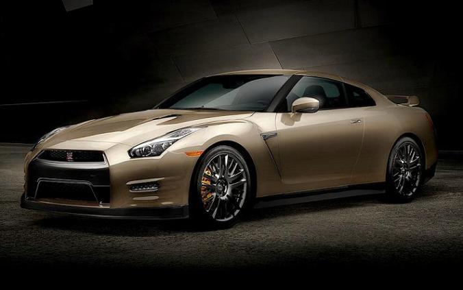 Nissan, 2016 Nissan GT-R, GT-R 45th Anniversary Gold Edition, sports car, car, vehicle, Nissan GT-R