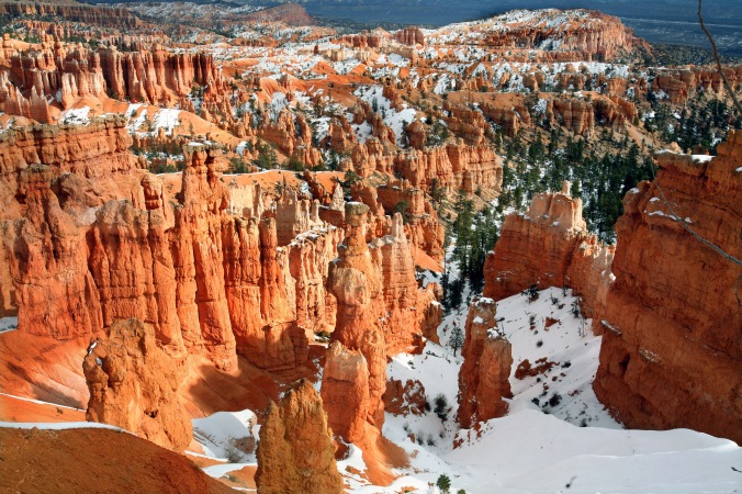 Bryce Canyon Country, Utah, USA, Rock Formations, winter, snow, nature, landscape, travel, photography