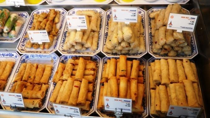 La Maison Thai, thai food, food, spring rolls, nems, foodie, food photography, TS76