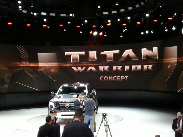 Nissan, TITAN Warrior Concept, NAIAS, NAIAS 2016, Detroit, Michigan, pick up truck, truck, vehicle