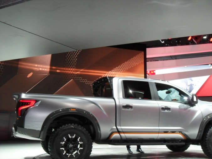Nissan, TITAN Warrior Concept, NAIAS, NAIAS 2016, Detroit, Michigan, pickup truck, truck, vehicle