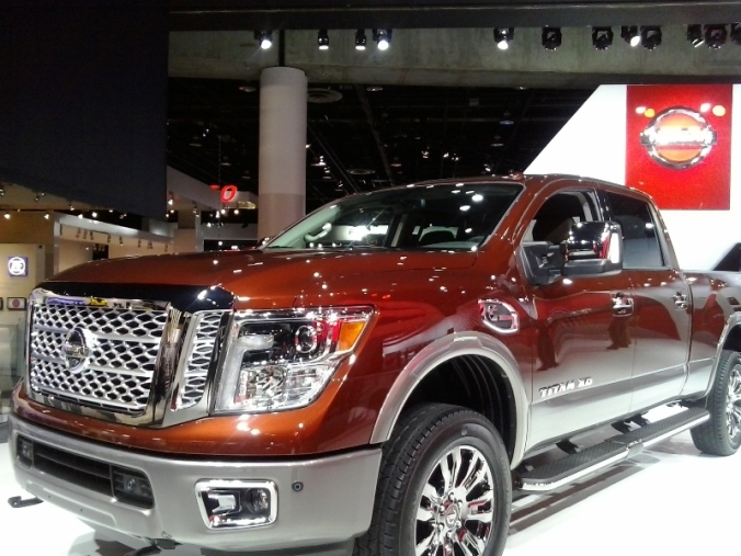 Nissan, TITAN XD, NAIAS, NAIAS 2016, Detroit, Michigan, auto show, truck, pick up truck