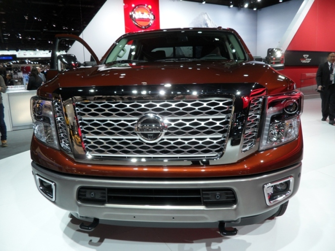 Nissan, TITAN XD, NAIAS, NAIAS 2016, Detroit, Michigan, auto show, truck, pickup truck