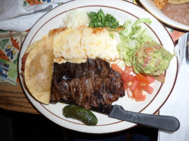 food, food photography, Tampiqueña plate, mexican food, Armando's Mexican Restaurant, Mexicantown, Detroit, Michigan,