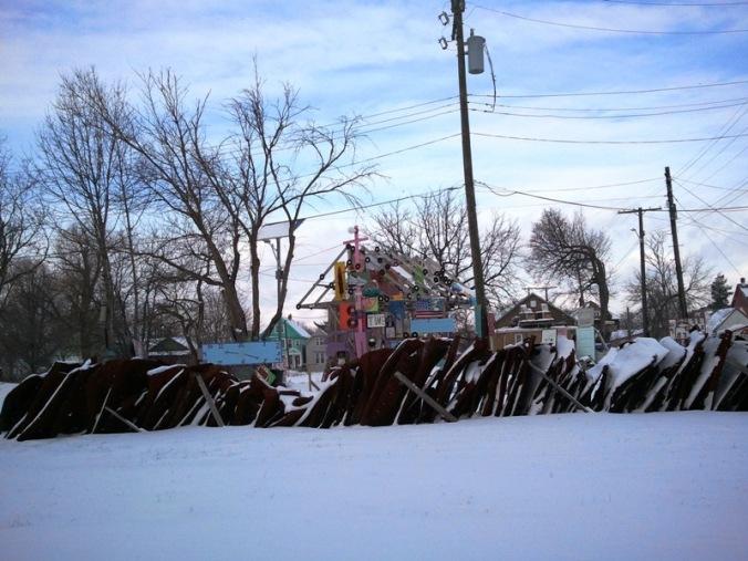 Heidelberg Project, art, outdoor art, Detroit, Michigan USA, TS76, photography