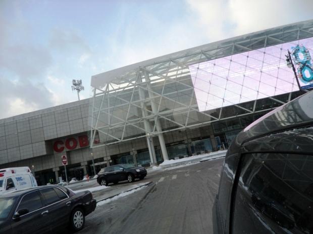 Cobo Center, Detroit, Michigan, Show Me Detroit tour, tour, travel, photography, TS76