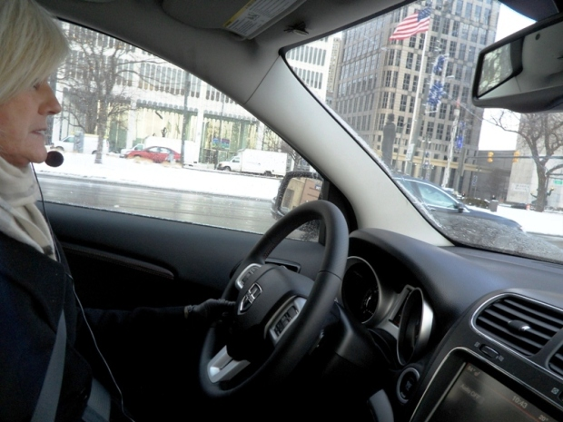 Van, deluxe van, interior, Detroit, Michigan, Show Me Detroit tour, tour, travel, photography, TS76