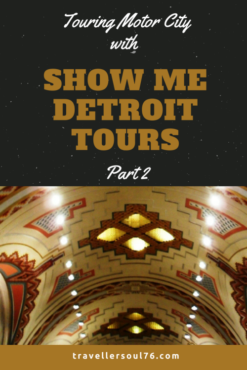 Heading to America's Comeback City? Motor City or best known as Detroit? Then come along on a Tour of the city with Show Me Detroit Tours. It's an interesting tour of the city that has so much to offer and truly not what you see on TV. Check it out part 2!