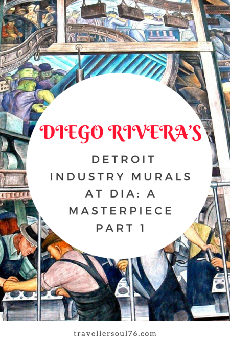 Talented and skilled Mexican muralist, Diego Rivera, created a masterpiece and a true work of love at the Detroit Institute of Arts. His Detroit Industry Murals are spell bounding and is a tribute to the automobile workers, an impressive sight!