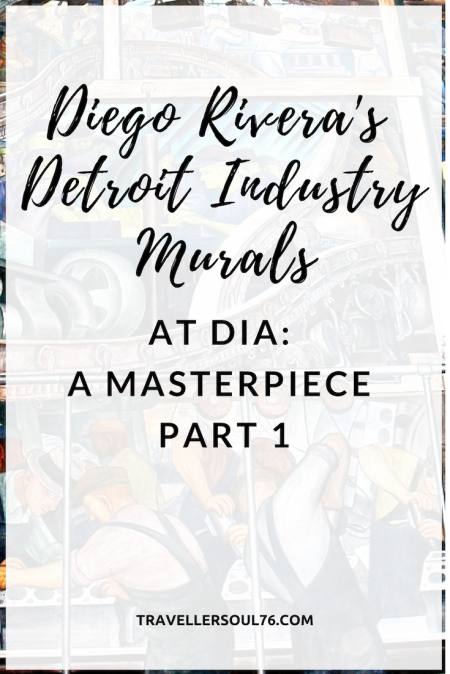 Come admire Diego Rivera's masterpiece at Detroit Institute of Arts, the Detroit Industry Murals Part 1. #art #mural #DiegoRivera #Detroit #Museum