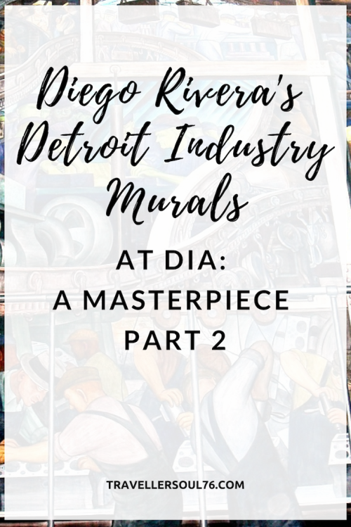 Art worth the trip. Check out Diego Rivera's masterpiece at Detroit Institute of Arts, the Detroit Industry Murals Part 2. #art #mural #DiegoRivera #Detroit #Museum