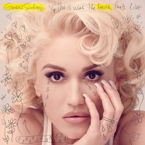 Gwen Stefani, This Is What The Truth Feels Like, Standard Album Cover, CD, 2016, music