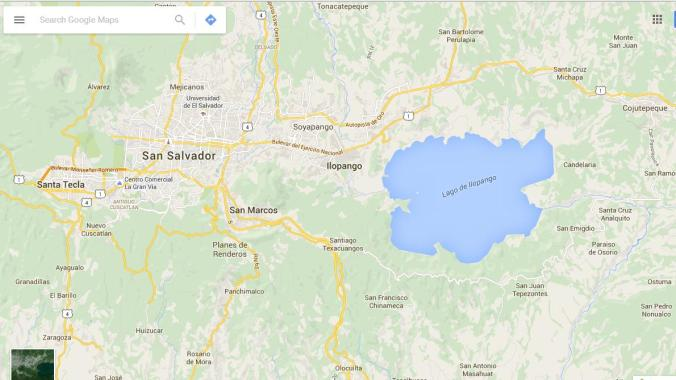 Ilopango Lake, Lago de Ilopango, El Salvador, ES impresionante, Google Maps, travel, TS76