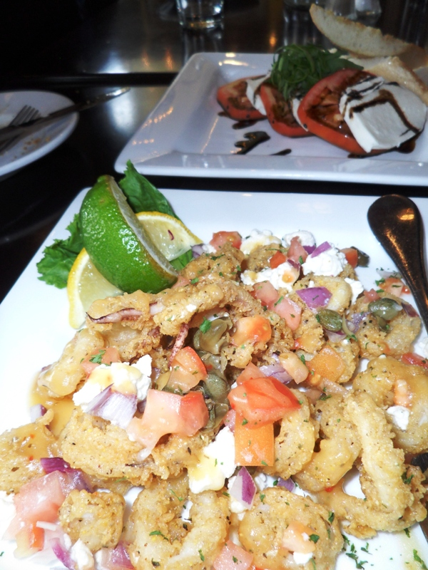 Maccabees, Midtown, Detroit, Michigan, calamari, food, photography