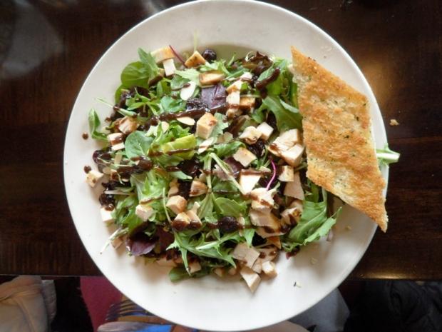 Maccabees, Midtown, Detroit, Michigan, salad, traverse city blues salad, food, photography