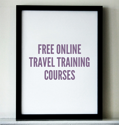 Free online travel training courses, OTT, Online Travel Training, travel, study, photography, TS76
