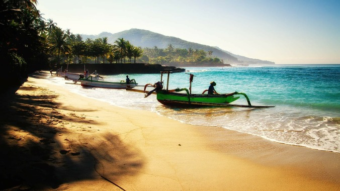 Beach, boats, Bali, Indonesia, travel, photogaphy