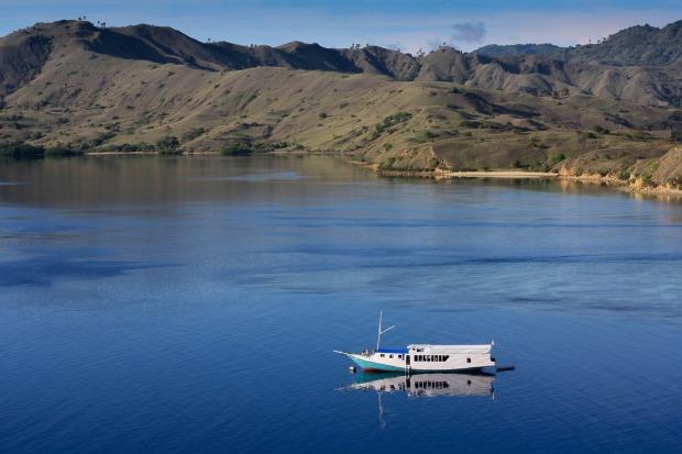 boat, sea, Indonesia, travel, photography