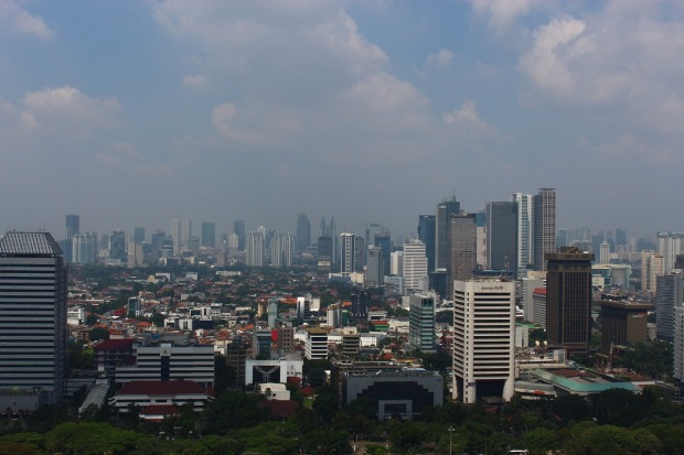 City, skyline, Jakarta, Indonesia, travel, photography