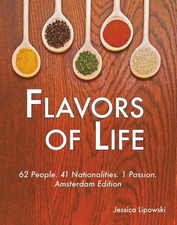 Flavors of Life, Flavors of Life Cover, Jessica Lipowski, author, blogger, Flavors of Life, book author, travel blogger