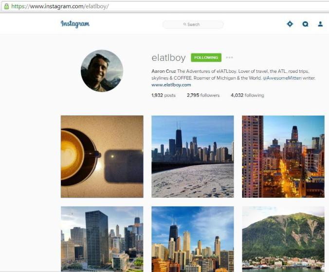 Instagram, travel instagram accounts, Elatlboy, travel, photography, blogger