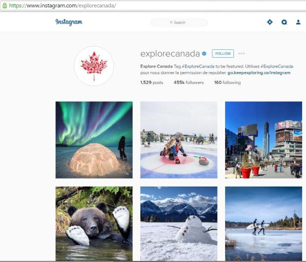Instagram, travel instagram accounts, Explore Canada, travel, photography, blogger