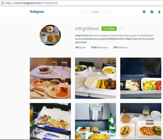 Instagram, travel instagram accounts, Inflight Feed, travel, photography, blogger