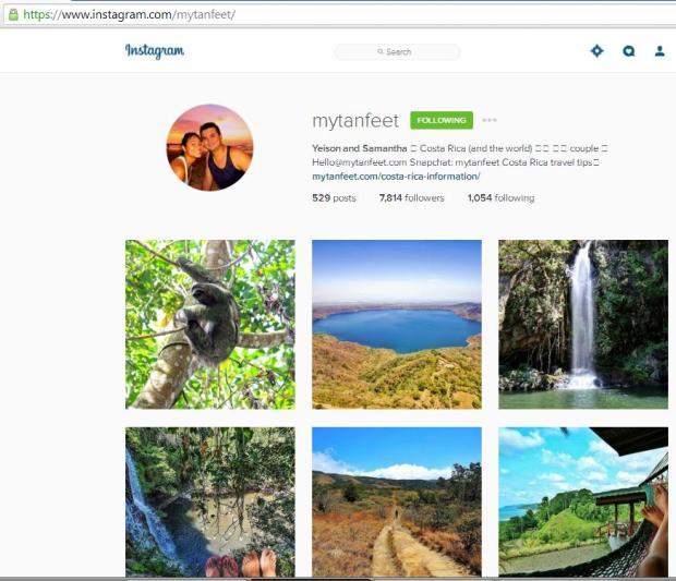 Instagram, travel instagram accounts, My Tan Feet, travel, photography, blogger