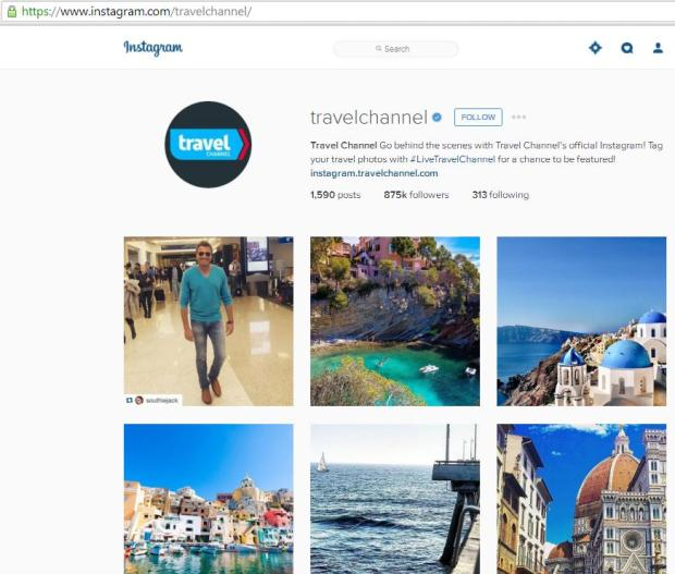 Instagram, travel instagram accounts, Travel Channel, travel, photography, blogger