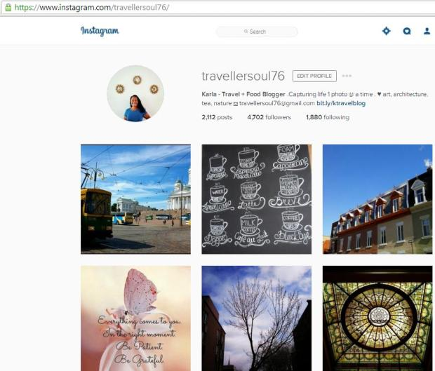 Instagram, travel instagram accounts, Karla, Travellersoul76, travel, photography, blogger