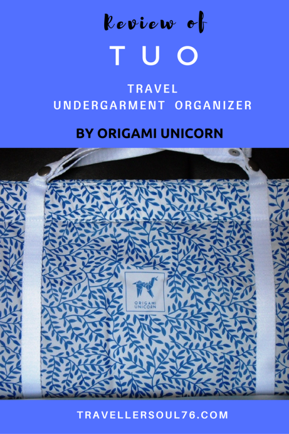A place for everything and everything in its place. This stylish and practical Travel Undergarment Organizer by Origami Unicorn will come handy whenever you travel!