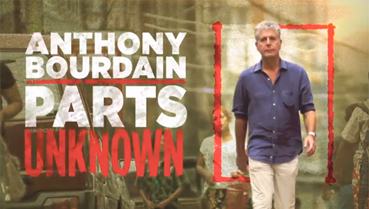 Anthony Bourdain, Parts Unknown, screen shot, travel, foodie