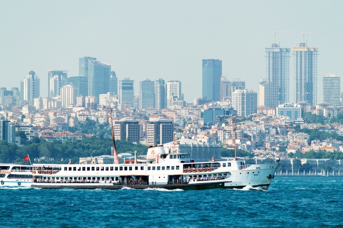 Skyline, View, Istanbul, Turkey, travel, photography