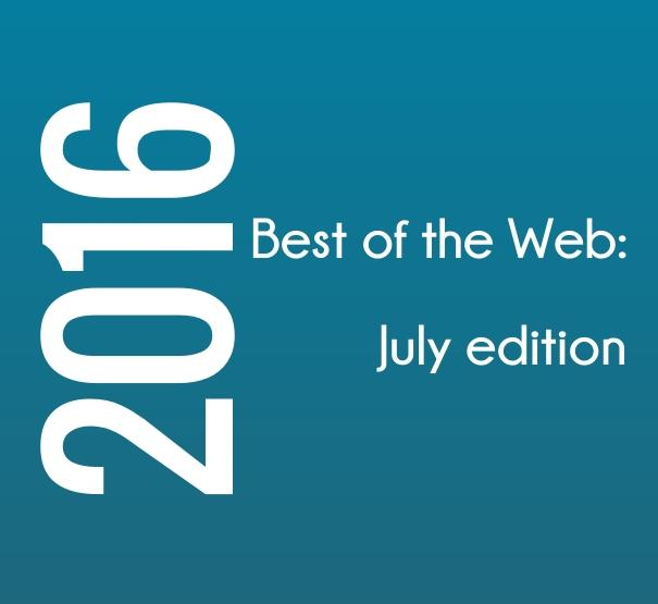Best of the Web July 2016 edition, blog, blogger, blogging, social media, TS76