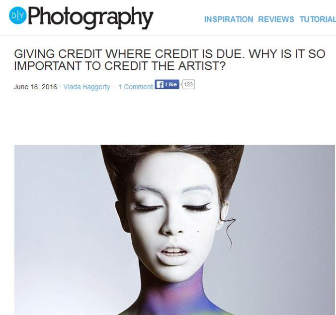 DIY Photography, photography, Giving Credit where credit is due