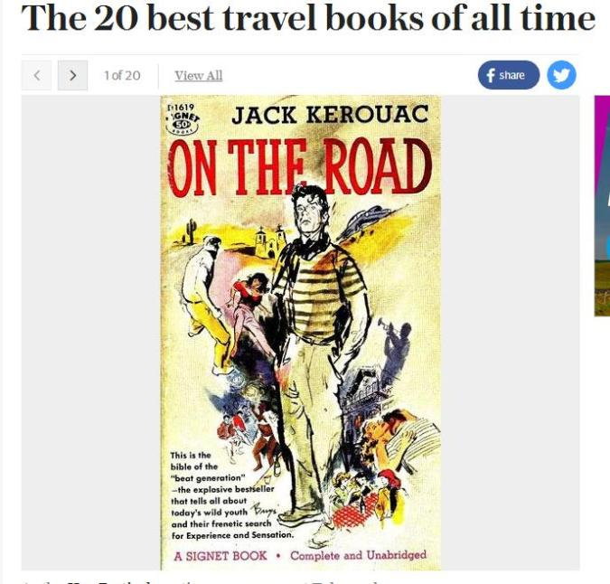 travel, travel books, The 20 Best Travel Books of all Time