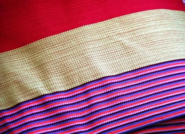 Colorful, woven blanket, handmade, handicrafts, San Sebastian, El Salvador, Central America, photography, TS76